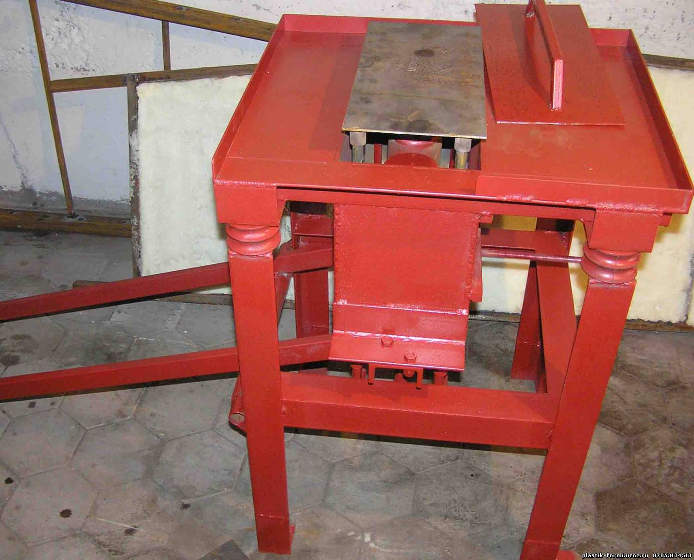 Станок для керамзитных блоков своими руками